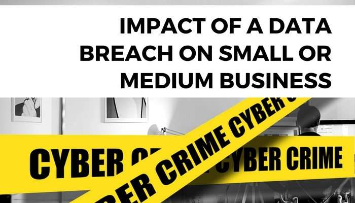 Impact of a Data Breach on Small or Medium Business