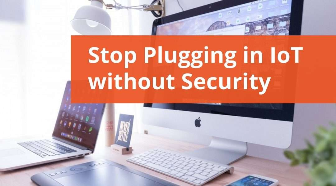 Stop Plugging in IoT without Security