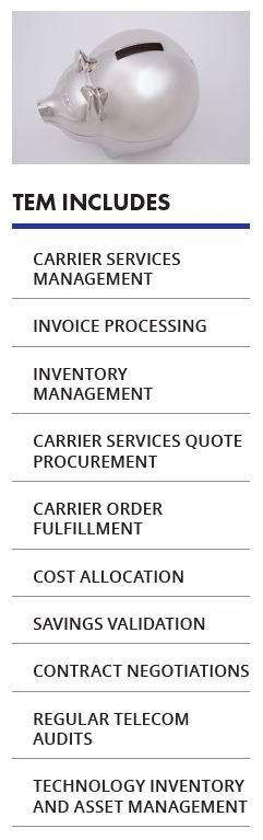 Carrier Services Management