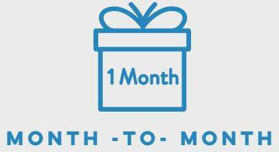 month to month pricing